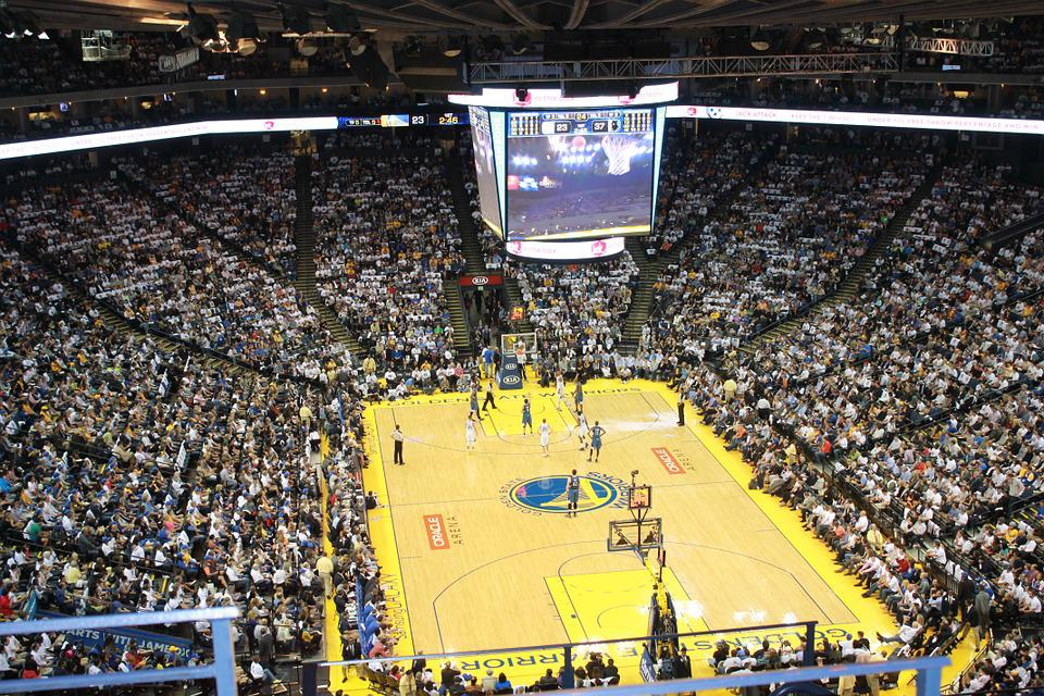 Basketball, Stadium, Golden State Warriors, Oakland