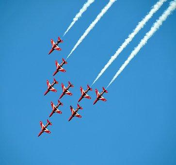 Airshow, Aviones De Combate, Acrobático