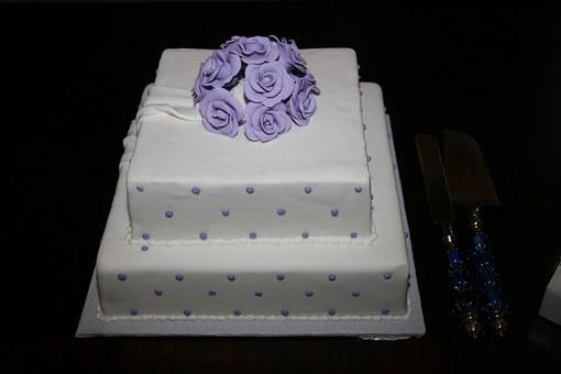 Cake Wedding Cake Marriage White Dessert C