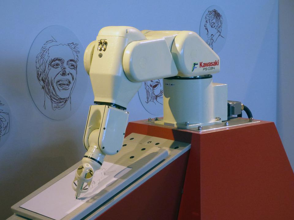 foto gratis robot brazo de robot rob243tica imagen