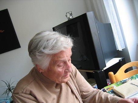 依存, 認知症, 女性, 古い, 年齢, アルツハイマー病, 退職後の家