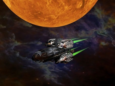 Science Fiction, Space Ship, Rocket