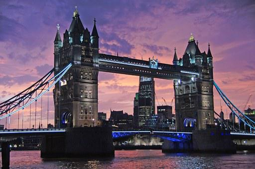 London, Tower Bridge, Bridge, Monument