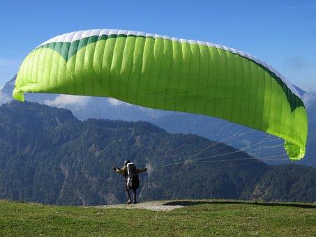 Paragliding, Sport, Flying, Paraglider