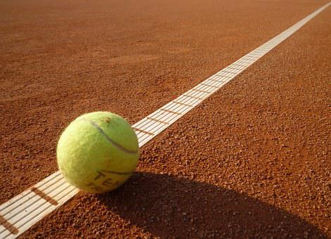 Tennis Court, Tennis, Yellow