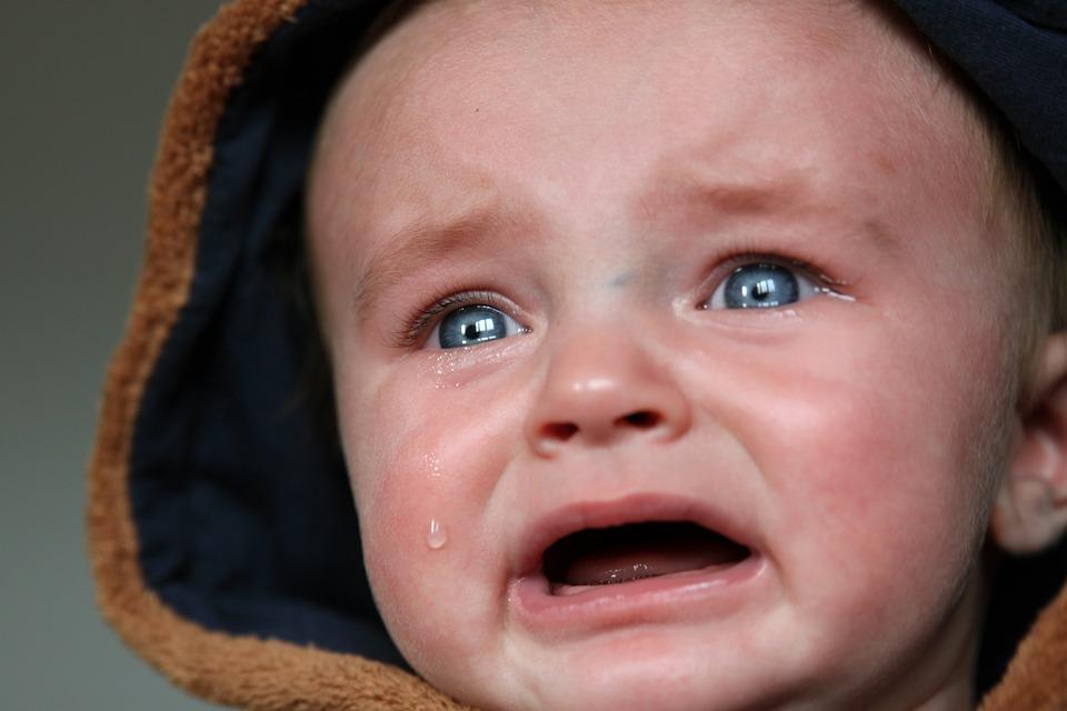 Bebê, Lágrimas, Criança Pequena, Triste, Chorar, Scream