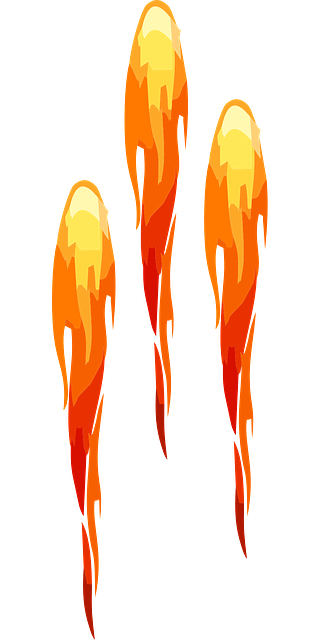 rockets flame fireworks 183 free vector graphic on pixabay