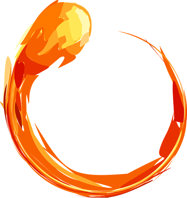 Fire Ring Blaze 183 Free Vector Graphic On Pixabay