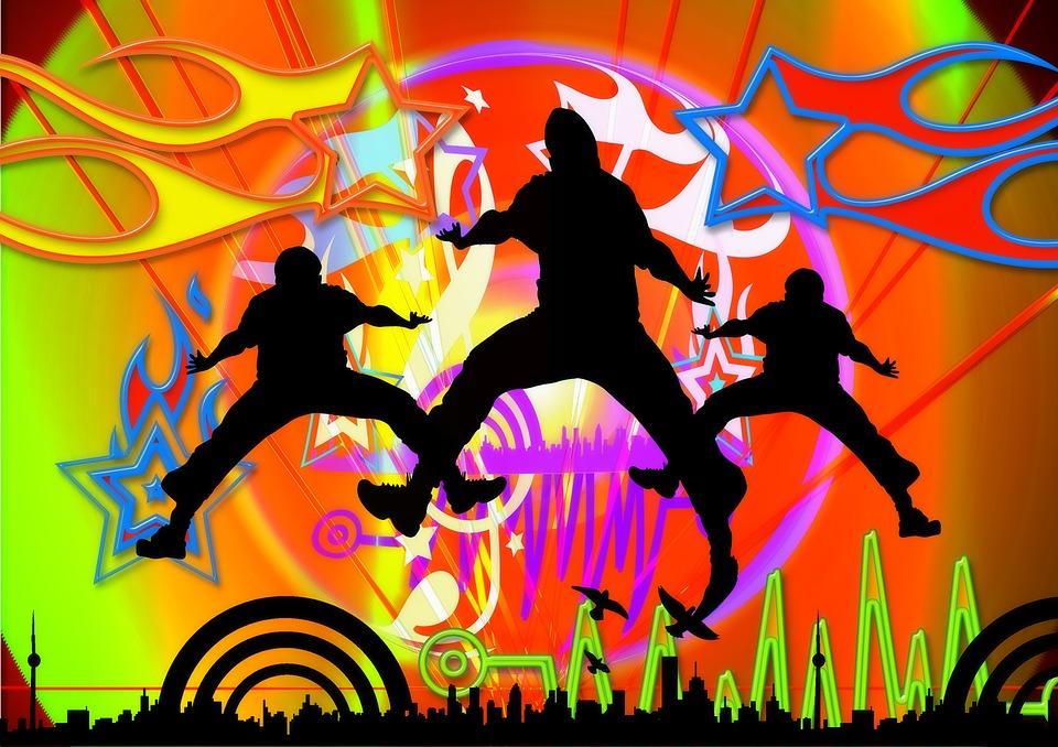 Illustration gratuite silhouette l 39 homme gar on image - Musique danse de salon gratuite ...