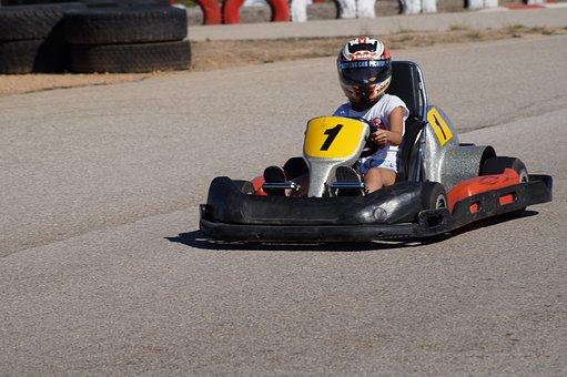 Go-Kart, Race, Go Kart Track, Kart, Cart