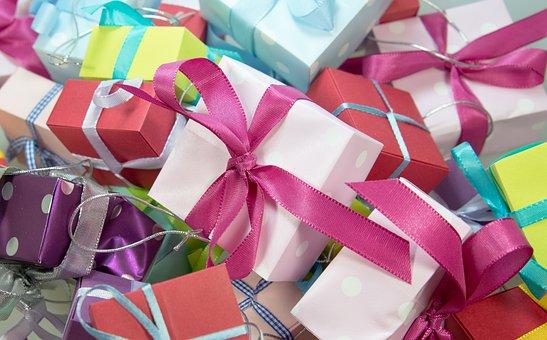 ギフト, パッケージ, ループ, メイド, クリスマス, フェスティバル