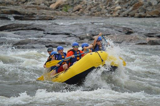 Rafting, Whitewater, River, Water, Sport