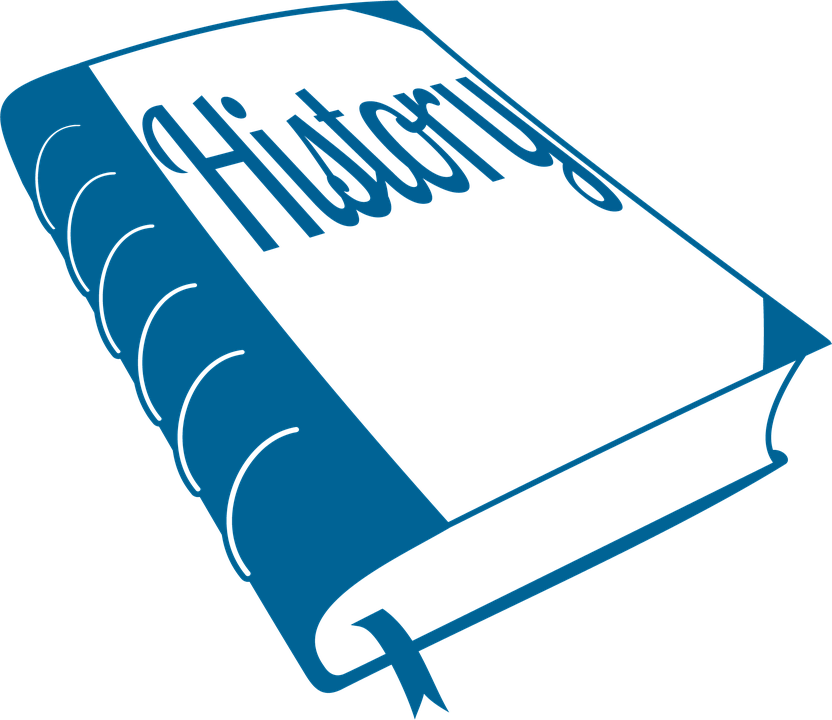 History, Textbook, Bookmark, Blue, Education