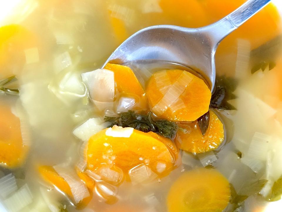 野菜スープ スープ スプーン - Pixabayの無料写真