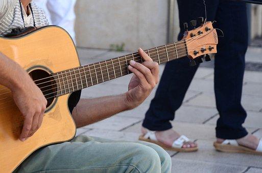 Guitarra, Guitarrista, Tocar La Guitarra