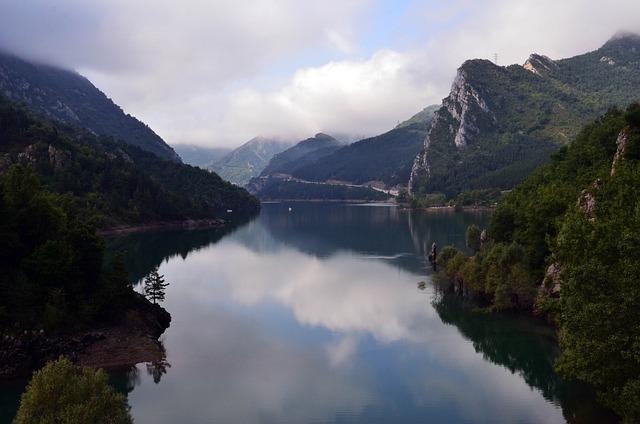 Photo Gratuite Lac Paysage Montagne Ciel Image