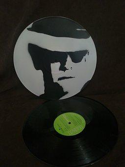 Elton John, Musician, Portrait, Painting