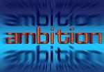 font, ambition