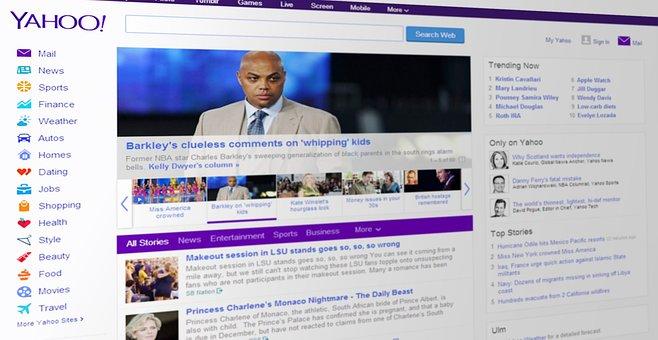 Yahoo News Portal Web Www Search Engine We