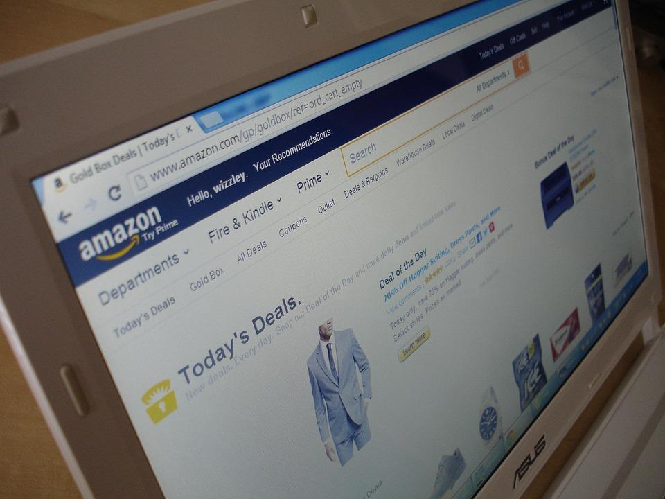 Amazon, Notebook, Laptop, Mobile, Monitor, Screen