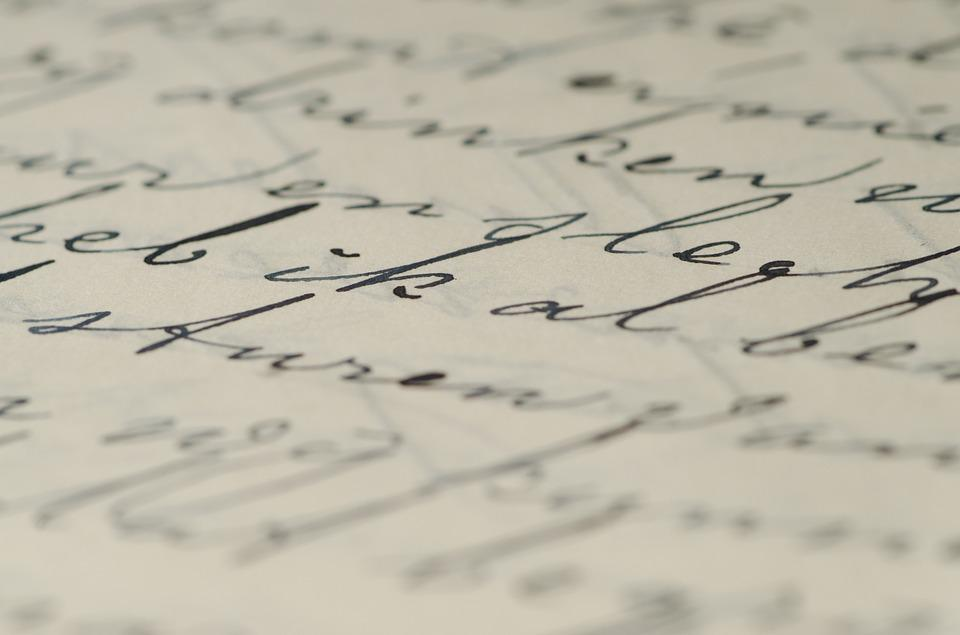 letter handwriting family letters