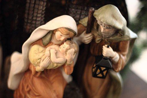 キリスト降誕, クリスマス, メアリー, ジョセフ, ベツレヘム, イエス