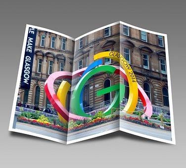 Booklet Pamphlet Glasgow Scotland Commonwe