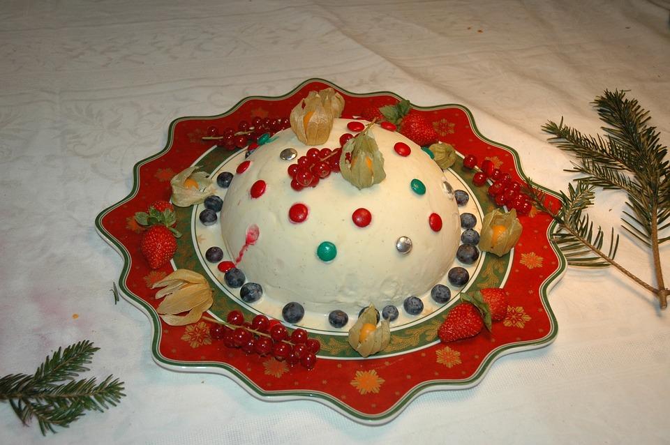 navidad pastel de navidad postre