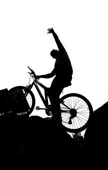 Fahrrad, Bmx, Junge, Rennen, Sport