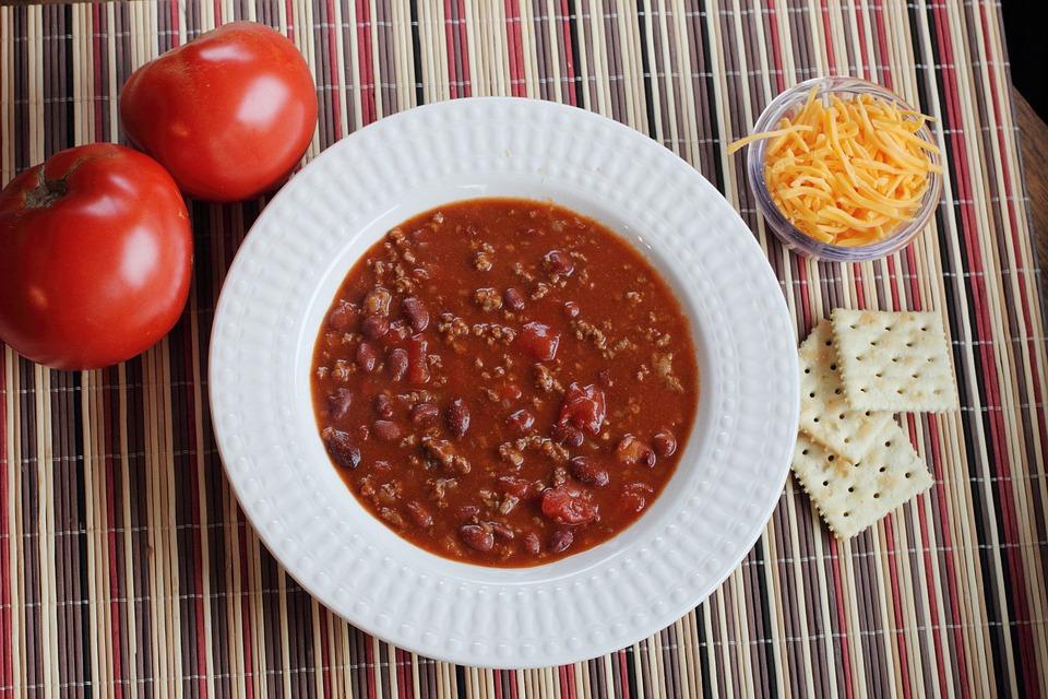 Chile Con Carne, Chile, Receta, Cocinando, Comida