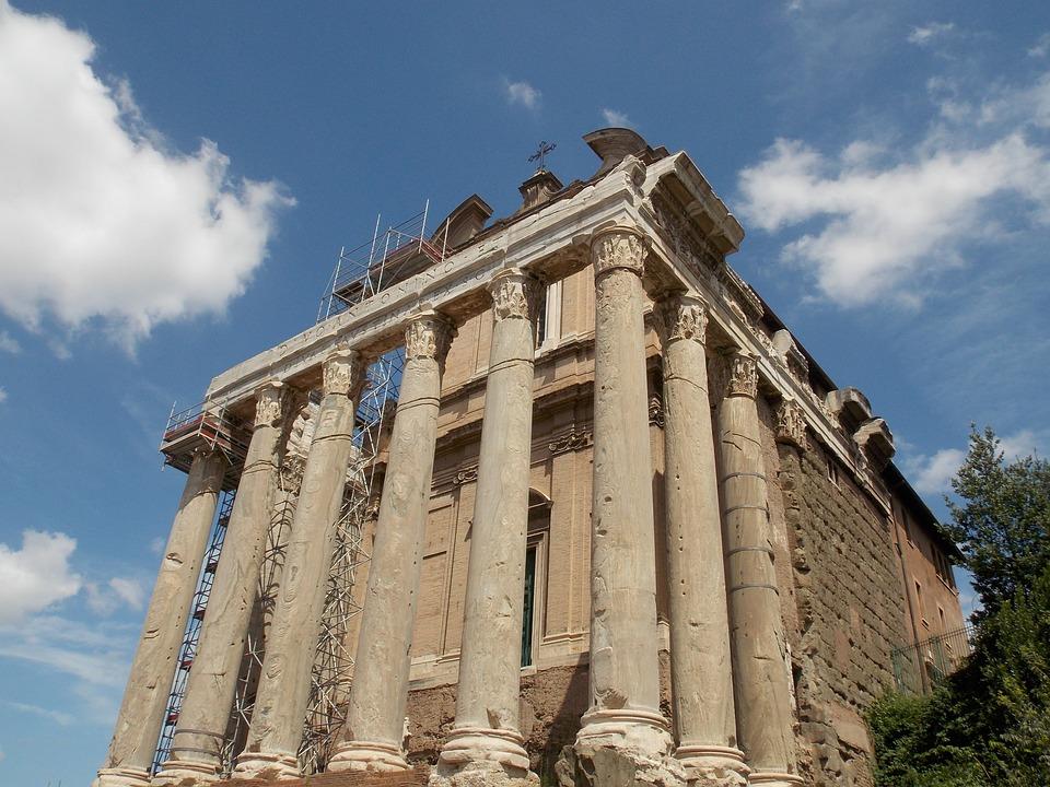 Free Photo Forum Romanum Rome Italy Roman Free Image