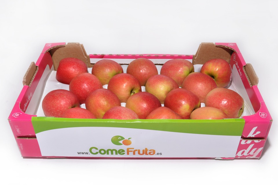 Apple, Pink Lady, Kiste Äpfel