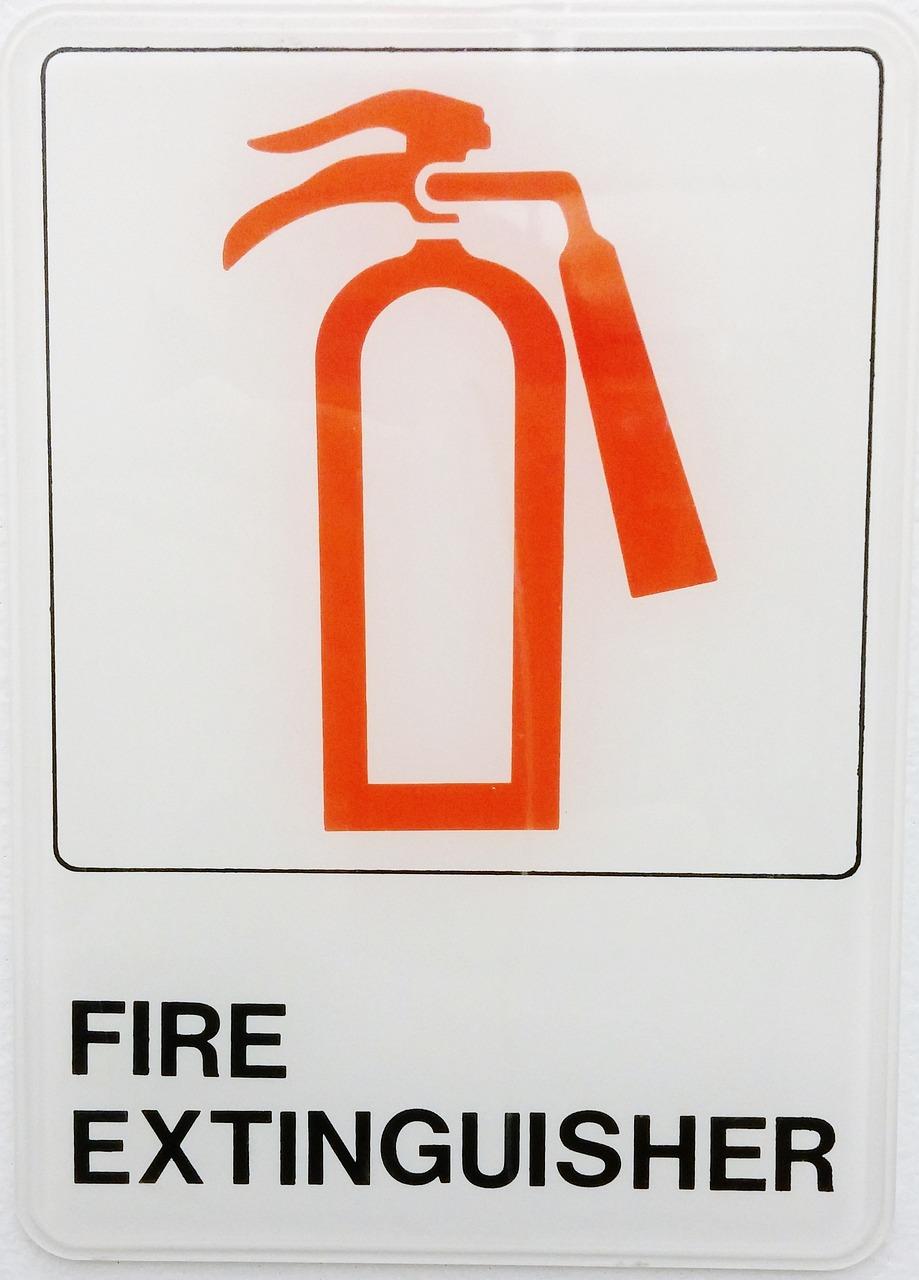 灭火器, 消防, 灭火器, 标志, 符号, 救火, 抑火器,高清图片 发现客