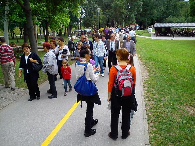 Free Photo: Walk, People, Park, Walking, Person