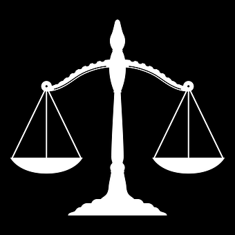 Legal Scales Of Justice Judge Justice