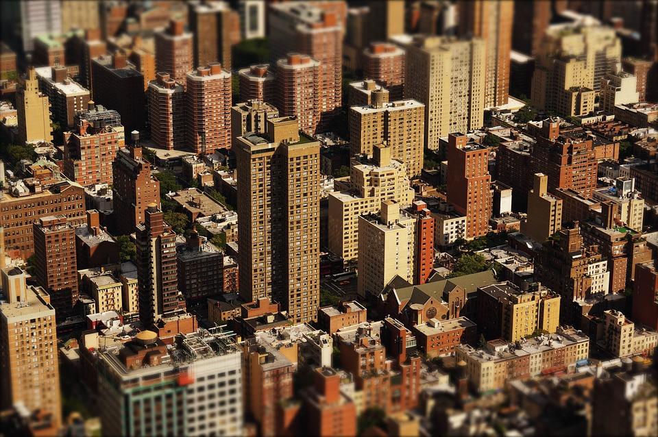 Skyscrapers, Skyline, City, Buildings, High-Rise