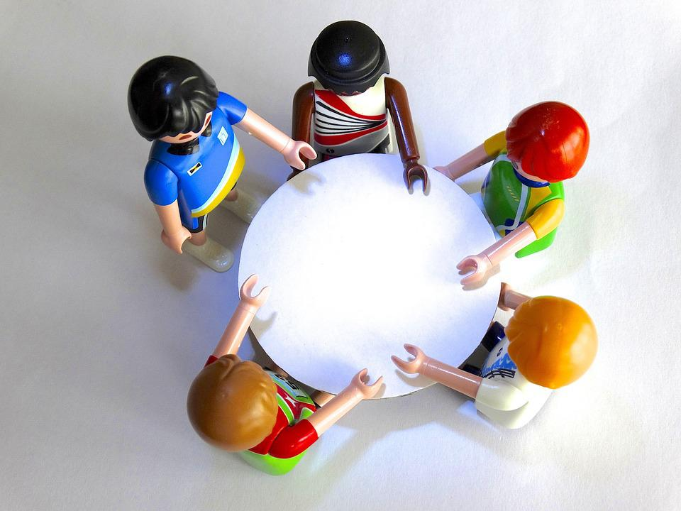 Playmobil, Figures, Session, Talk, Come Together