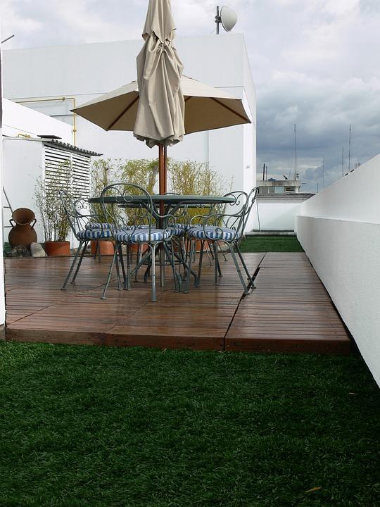 Deck, Stühle, Holz, Möbel, Entspannen, Im Freien, Patio