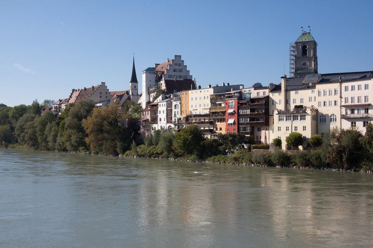 Wasserburg Am Inn Germania wasserburg râu inn - fotografie gratuită pe pixabay