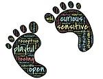 feet, toes, footprint