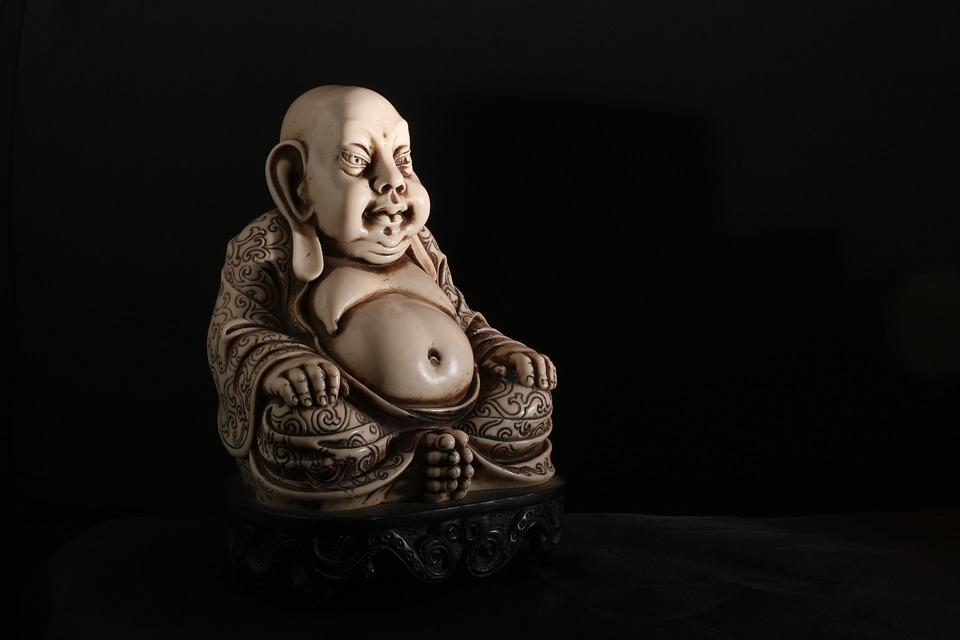 Buddha, Buddhism, Chinese, Pu-Tai, Stone, Figure, Thai