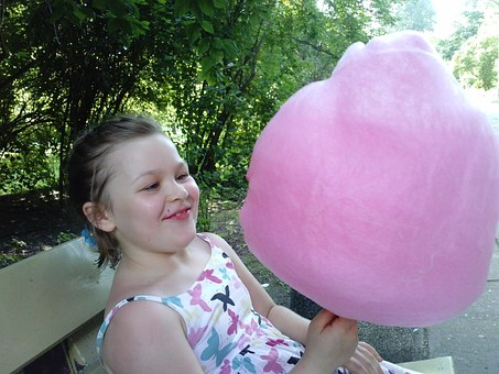 Cotton Candy, Child, The Little Girl