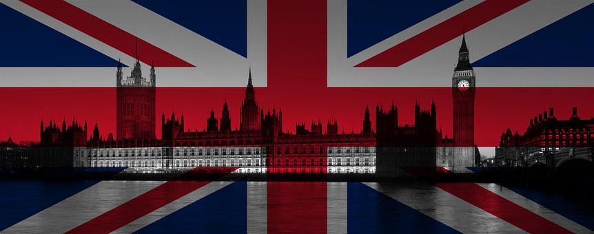 London Britain Union Jack Westminster Parl