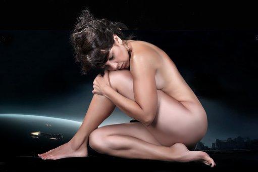 Naked, Women, Female, Model, Sexy