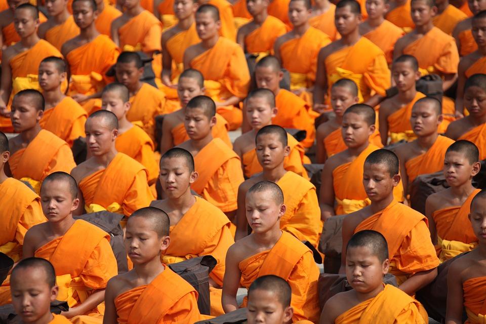 タイ 仏教徒 修道士 · Pixabayの...