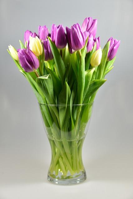 free photo flower vase tulips bouquet free image on pixabay - Flower Vase