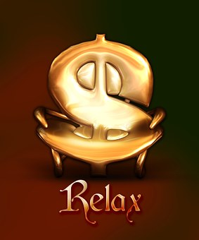 Relax, Money Sign, Dollar, Money