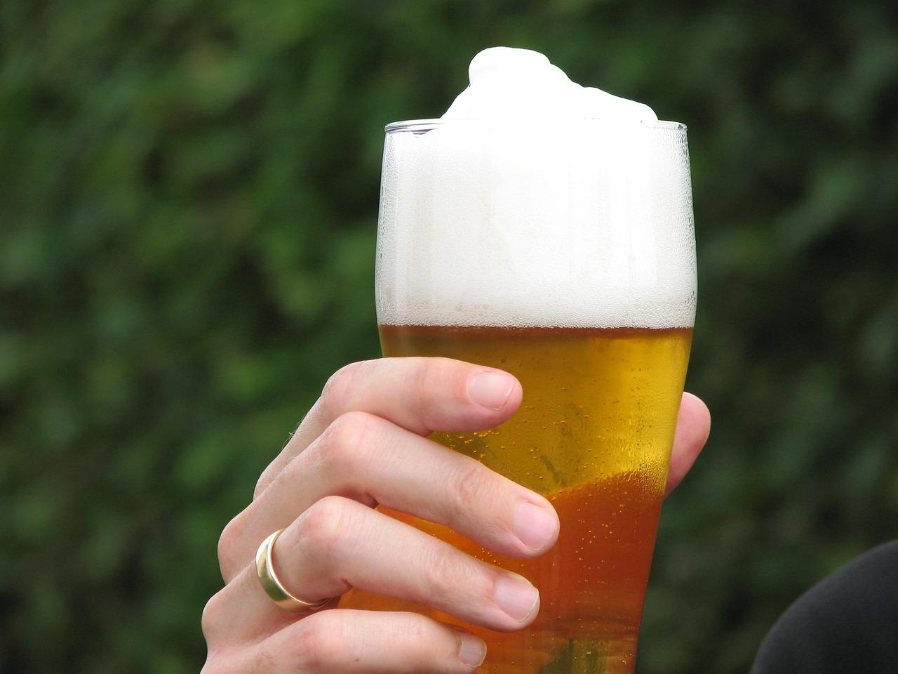 Пиво и цветы