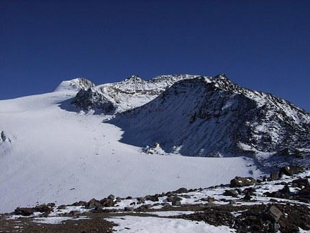Ötztaler Alpen, Ötztal, Berge, Schnee