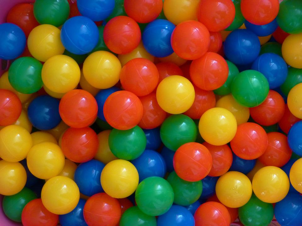 Bola Plastik Warna Warni - Foto gratis di Pixabay